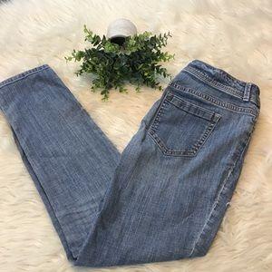Chico's Platinum Light Wash Skinny Jeans